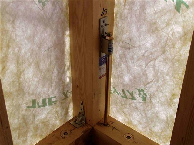 上棟から屋根葺き工事写真5