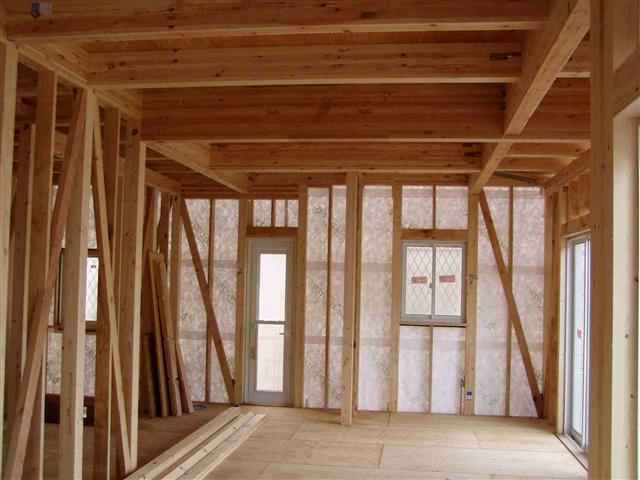 上棟から屋根葺き工事写真6