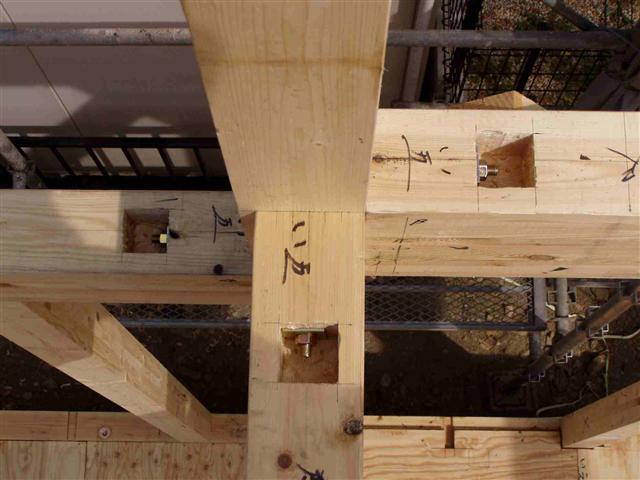 上棟から屋根葺き工事写真7