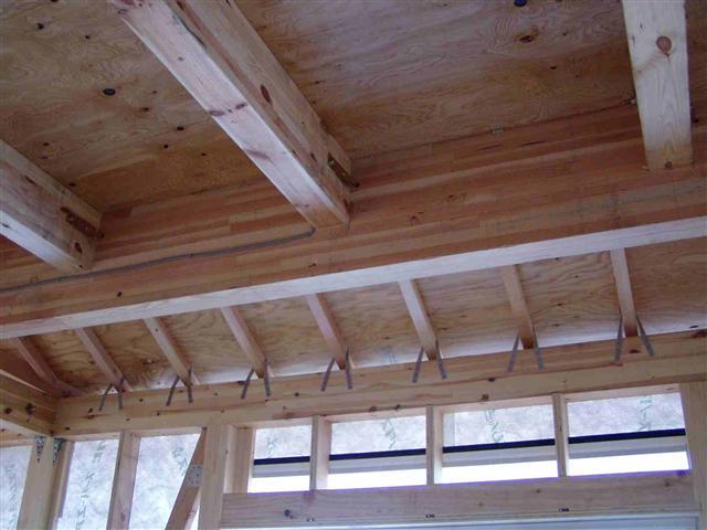 上棟から屋根葺き工事写真10