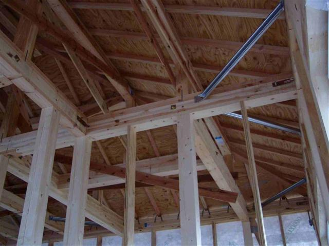 上棟から屋根葺き工事写真13