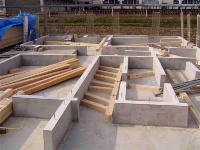 上棟から屋根葺き工事写真1